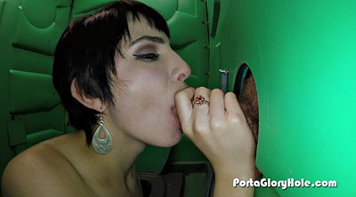 Gloryhole, Amateur cum swallow