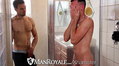 Shower, Small gay, Share shower