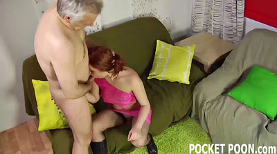 Old man, Fetish, Throat fucked