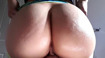 Anal solo, Shemale solo, Pov anal