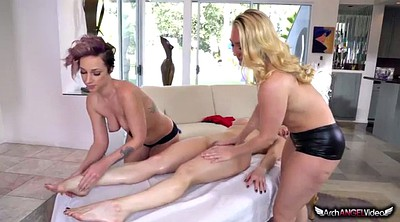Kendra, Jada stevens, Applegate, Public massage, Massages, Amateur massage