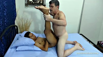 Asian old, Asian daddy, Asian daddies, Asian boy, Young boy, Bareback