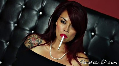 Smoking, Tera patrick, Smoking milf, Asian mature