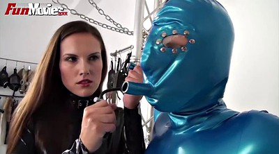 Chain, Latex bdsm, Chained