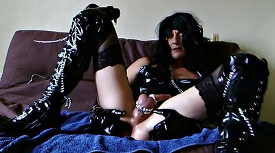 Boots, Woman, Dildo solo, Boots solo