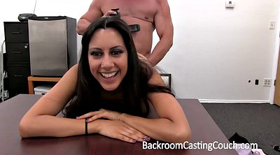 Casting girl, Anal creampie, Anal casting