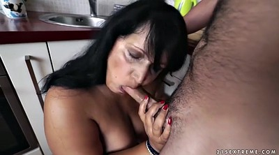 Big tits, Doggy, Mature anal, Chubby, Granny ass, Bbw facial