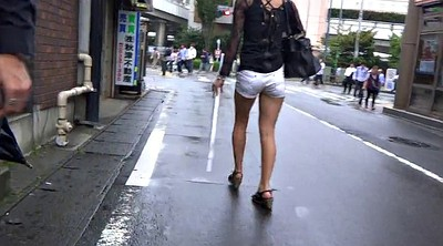 Legs, Japanese fetish, Asian voyeur