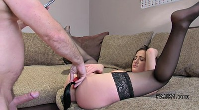 Stockings, Stocking anal