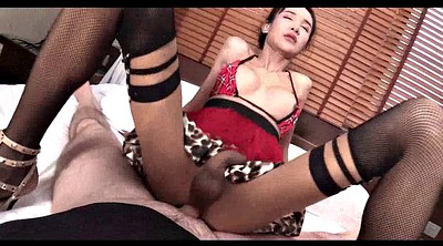 Asian, Thai, Shemale gape, Creams, Asian thai
