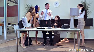Boss, Riley reid, Aidra fox, Lana rhoades, Lana rhoads, Office sex