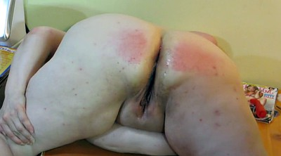 Wife ass, Spanke, Punished, Plump