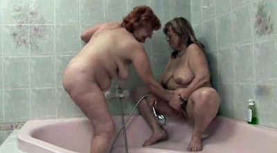 Hairy mature, Hairy granny, Bbw shower