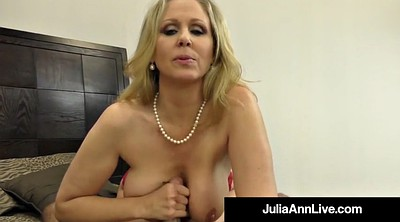 Julia ann, Mature feet, Foot hand