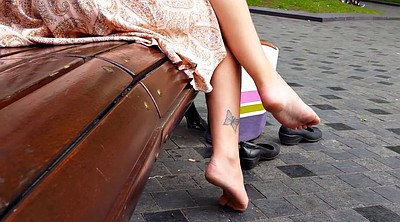 Candid, Sole, Park, Candid feet