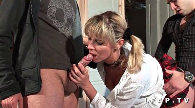 Sperm, French anal, Amateur dp
