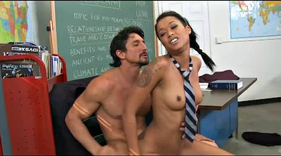 Asian black, Big tits teacher