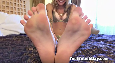 Hairy blonde, Feet solo, Hairy pussy