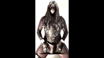 Leather, Shemale big cock