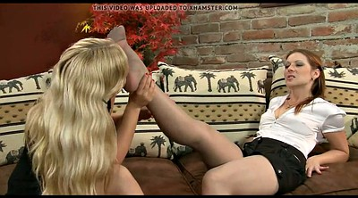Foot licking, Nylon feet