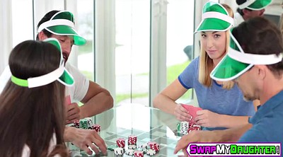 Father, Daughter swap, Father daughter, Swapping, Poker, Daughter daddy
