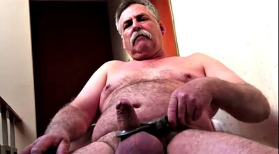 Dad, Chunky, Granny masturbation, Gay dad