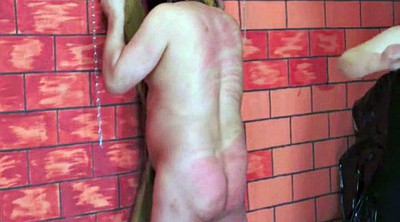 Caning, Russian mistress, Caned