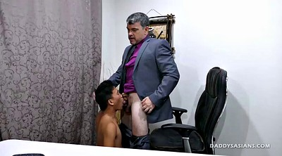 Dad, Asian old, Old daddy, Asian gay, Asian daddy, Asian office
