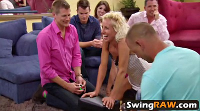 Swingers, Funny, Together, Milf swinger, Young couple, Interracial swingers