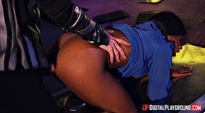 Big ass, Prison, Kiki minaj, Cock riding, Clothe, Alien