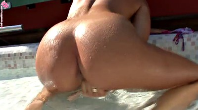 Outdoor masturbation, Pool
