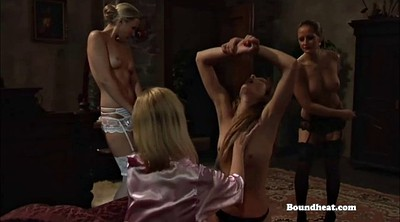 Whip, Whipped, Lesbian mistress, Lesbian bondage, Young mistress, Tits whipping