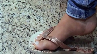 Candid, Toes, Candid feet