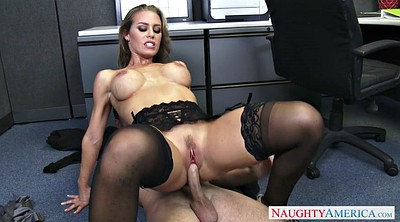 Nicole aniston, Nicole, At work, Worker, Big tits at work
