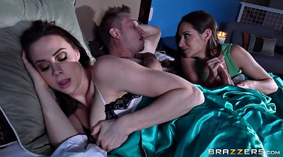 Sleep, Sleeping, Wife threesome, Chanel preston, Sleeping blowjob