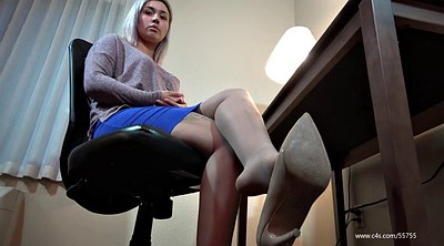 Shoeplay, Pantyhose feet