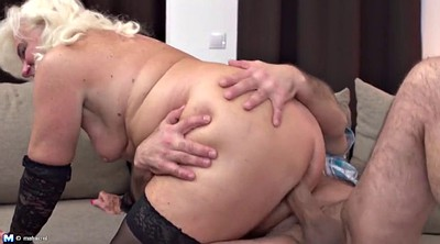 Fuck mom, Granny and young, Mature and young