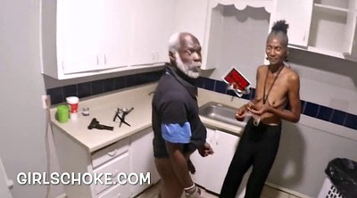 Grandpa, Old and young, Black man