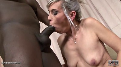 Tight pussy, Interracial mature