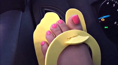 Foot fetish, Pink