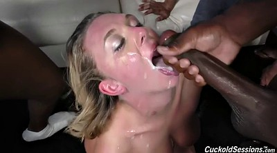 Black gangbang, Club, Fuck wife, In front of, Gangbang black