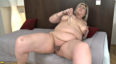 Fat granny, Feeding, Bbw milf, Feed, Fat mature