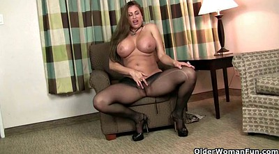 Milf nylon, Mature pantyhose