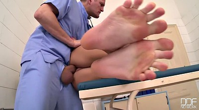 Nurse, Feet fuck, Doctor feet, Foot fuck, Fuck feet, Doctor foot