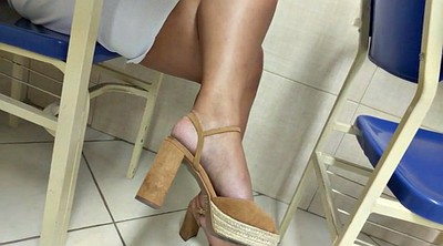 Heels, High heels, High, Brazilian foot, Foot girl