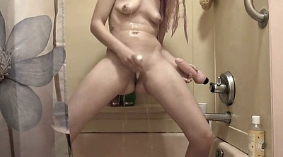 Shower masturbation
