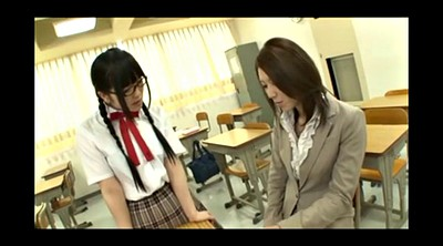 Japanese teacher, Japanese lesbian, Japanese bdsm, Japanese student, Glass, Spanking japanese