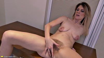 Mature hairy, Real mother