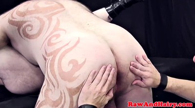 Leather, Hairy anal