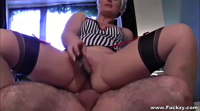 Big ass, Mature milf, Mature nylon